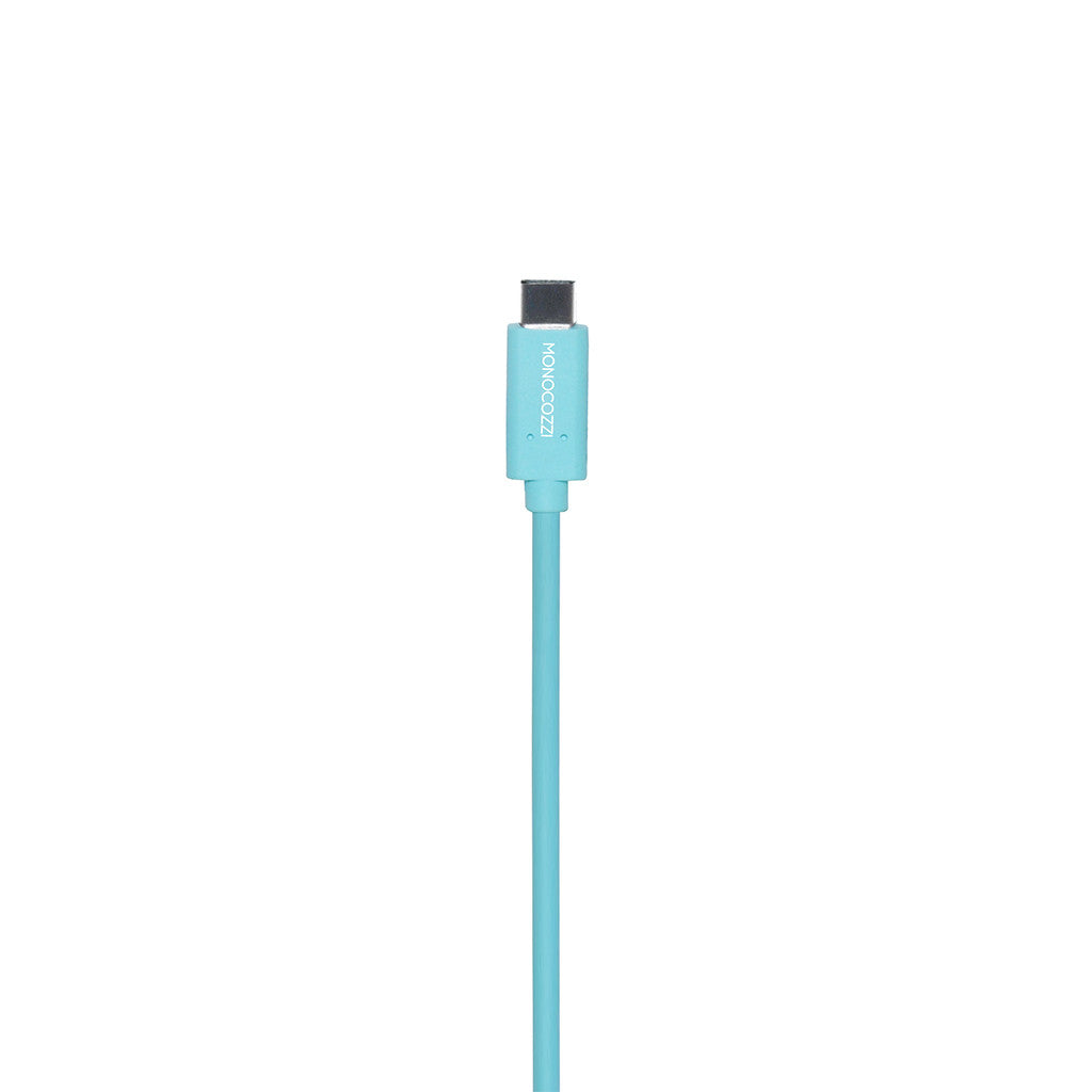 Vital Power | USB-C to USB 5Gbps Connect, Charge & Sync Cable (100cm) - Blue