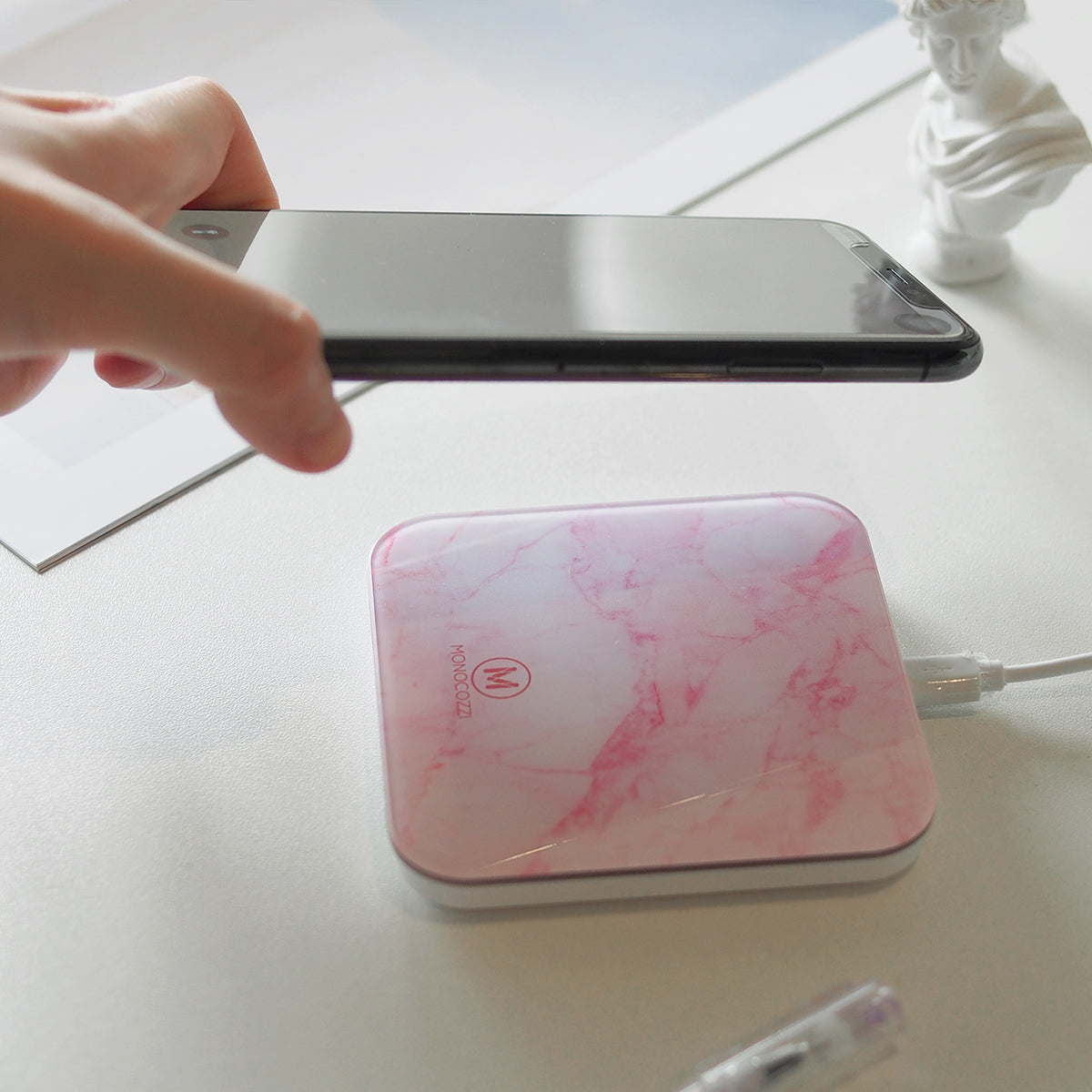 MOTIF | Wireless Charging Pad - Pink