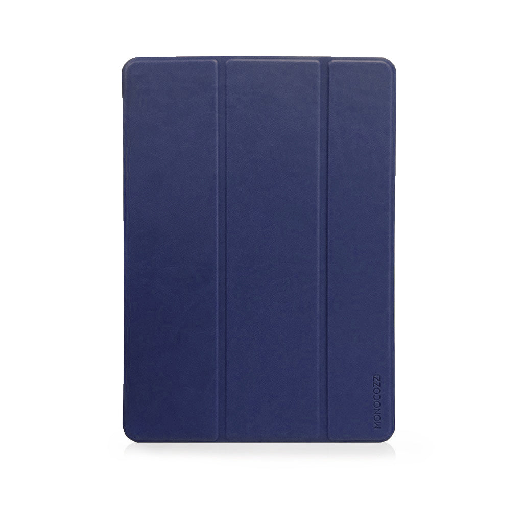"LUCID FOLIO | Ultra Slim Hard Flip Case for iPad 9.7"" 2017 & 2018 with Auto On-Off - Navy"