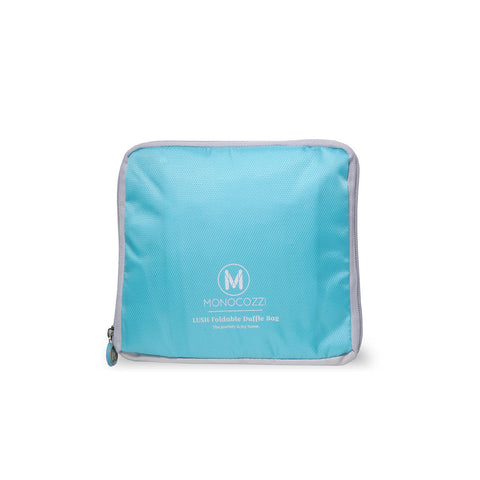 LUSH| Foldable Duffle Bag - Blue