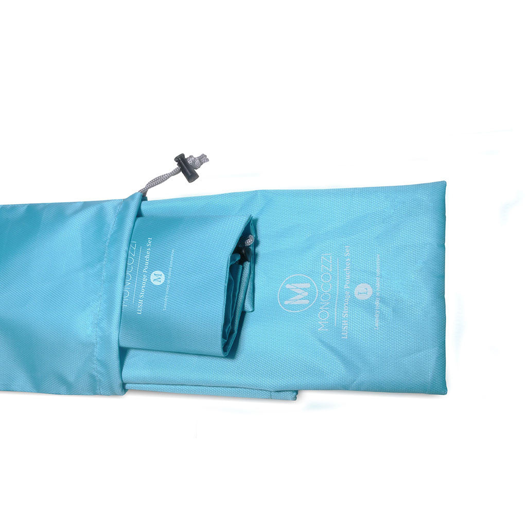 LUSH | Storage Pouches Set - Blue