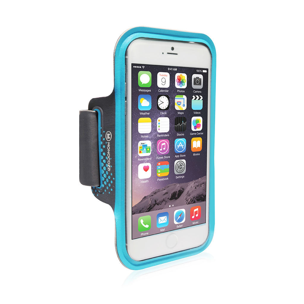 Motion | Sports Armband with Cable Management for iPhone 6 (or equivalent size) - Blue