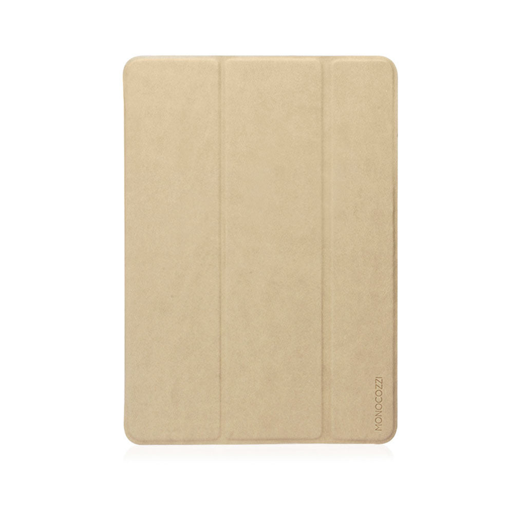 "LUCID FOLIO | Ultra Slim Hard Flip Case for iPad 9.7"" 2017 with Auto On-Off - Cream"