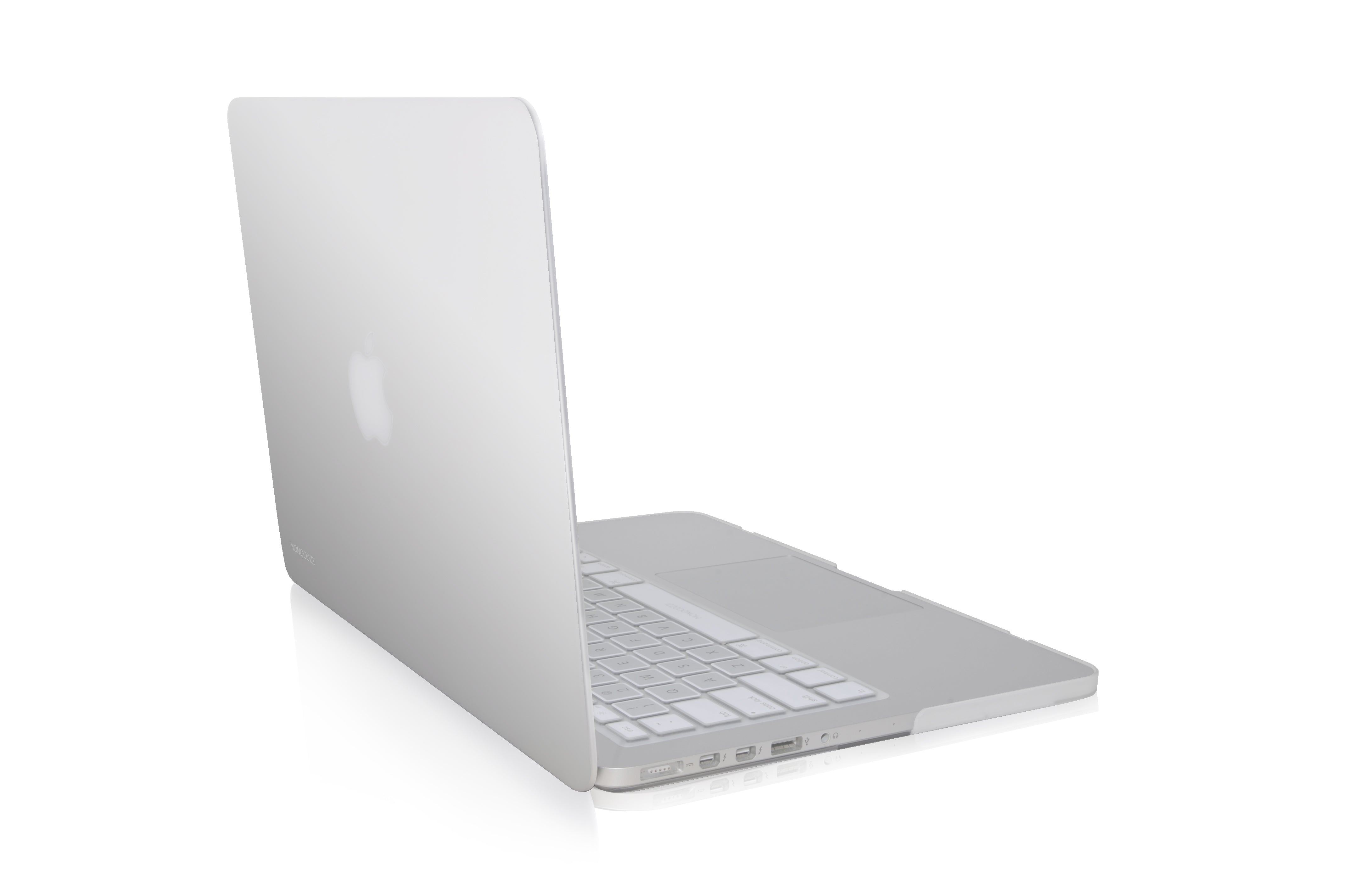 "LUCID | Translucent hard shell case for MacBook Pro 13"" Retina - white"