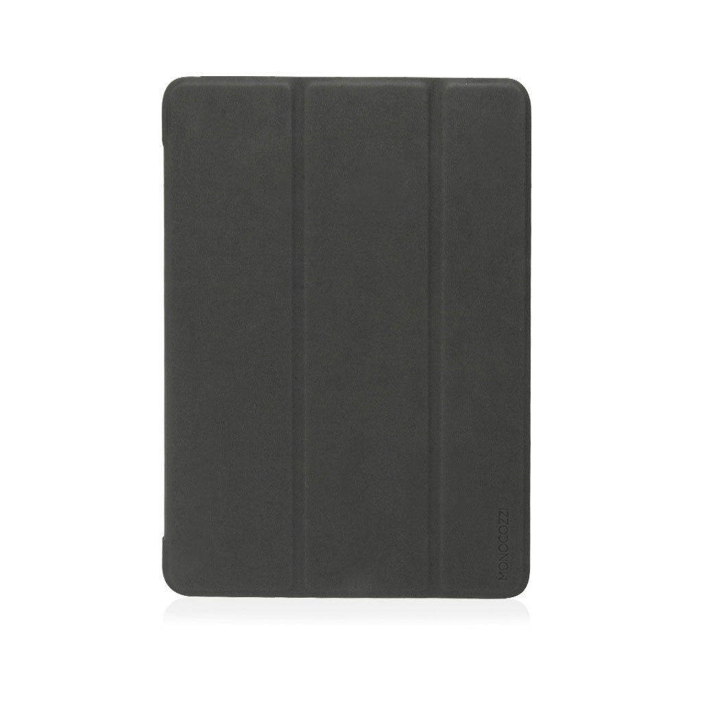 "LUCID FOLIO | Ultra Slim Hard Flip Case for iPad 9.7"" 2017 & 2018 with Auto On-Off - Charcoal"