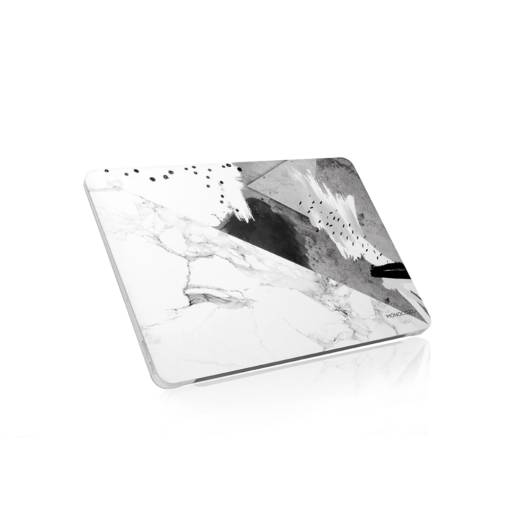 "Pattern Lab | Hard Case for Macbook Air 13"" - Marble2 (Charcoal)"
