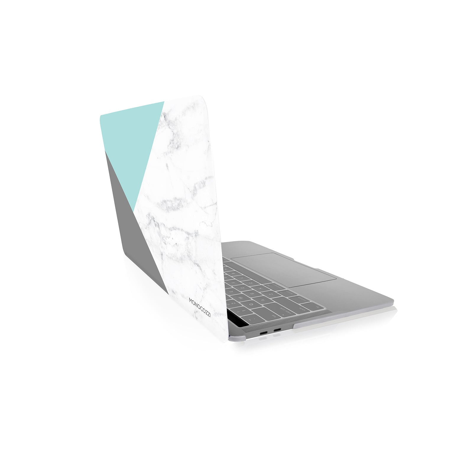 "Pattern Lab | Hard Case for Macbook Pro 13"" w/ USB-C - Marble (Tiffany)"