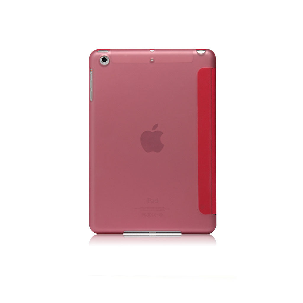 Lucid Folio | Ultra Slim Hard Flip Case for iPad Mini 4 with Auto On-Off Function - Pink