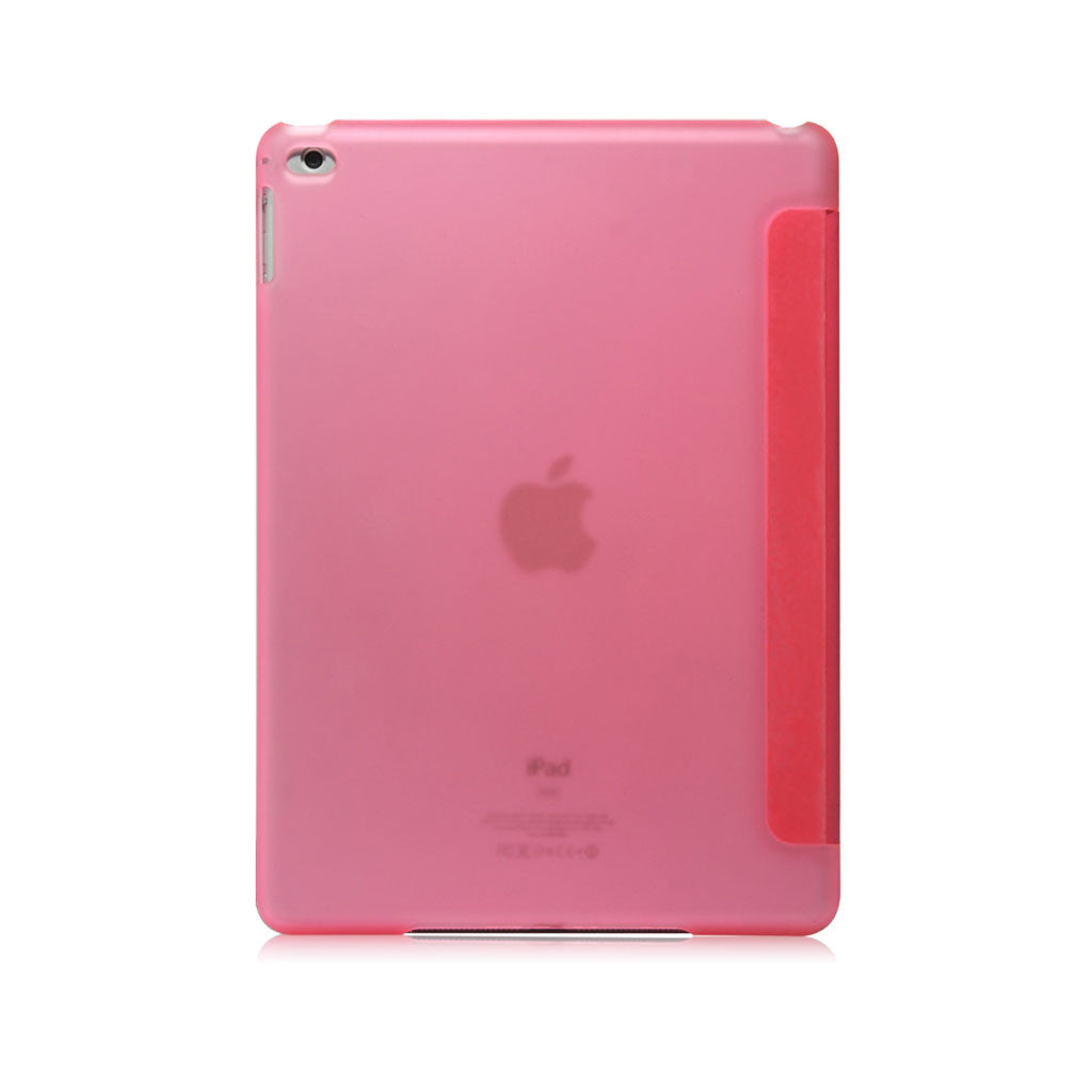 Lucid Folio | Ultra Slim Hard Flip Case for iPad Air 2 with Auto On-Off Function - Pink
