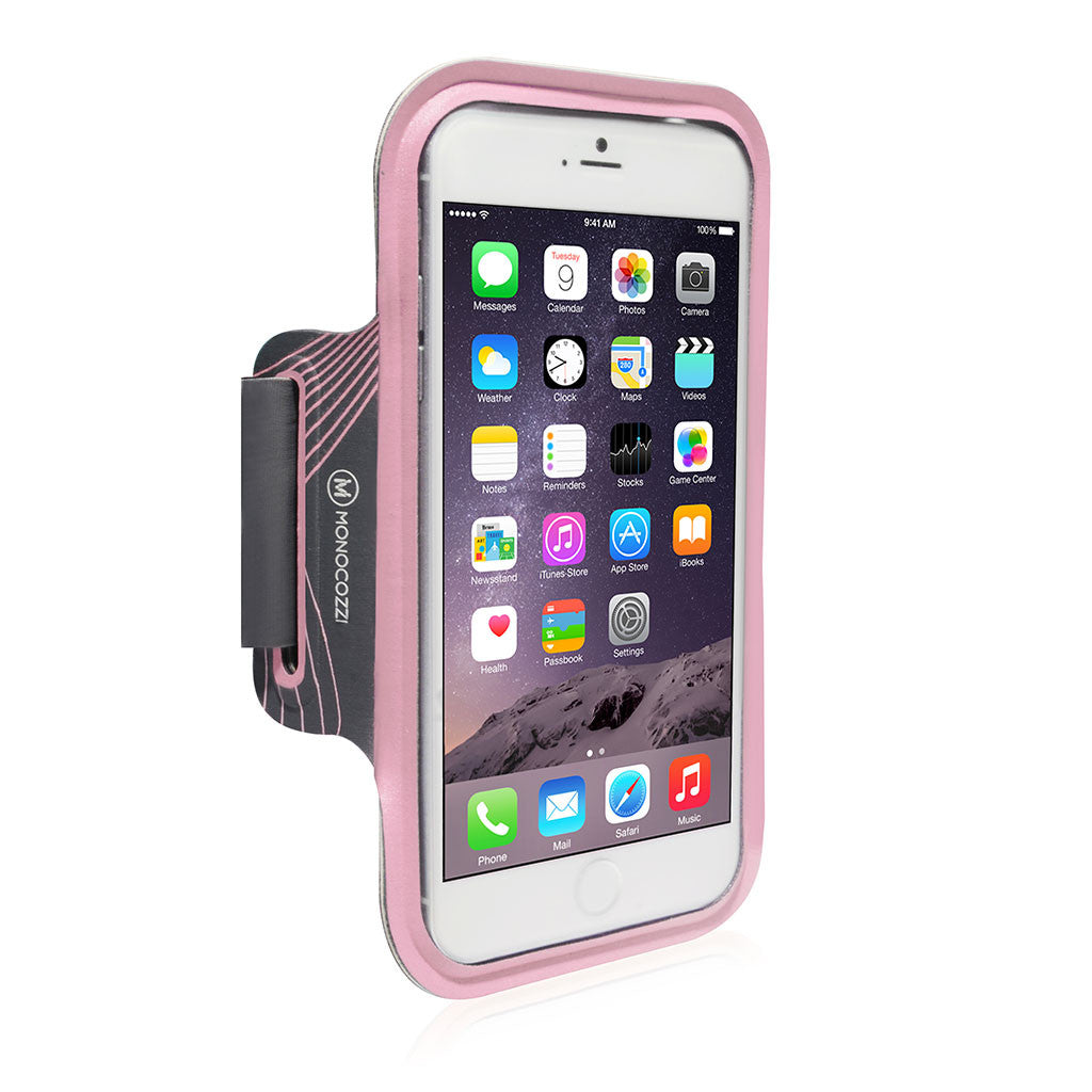MOTION | Sports Armband with Cable Management for iPhone 6 Plus (or equivalent size) - Pink