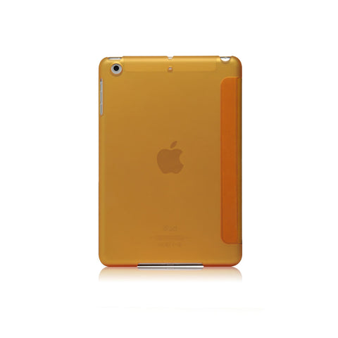 LUCID FOLIO | Ultra Slim Hard Flip Case for iPad Mini 4 with Auto On-Off Function - Yellow