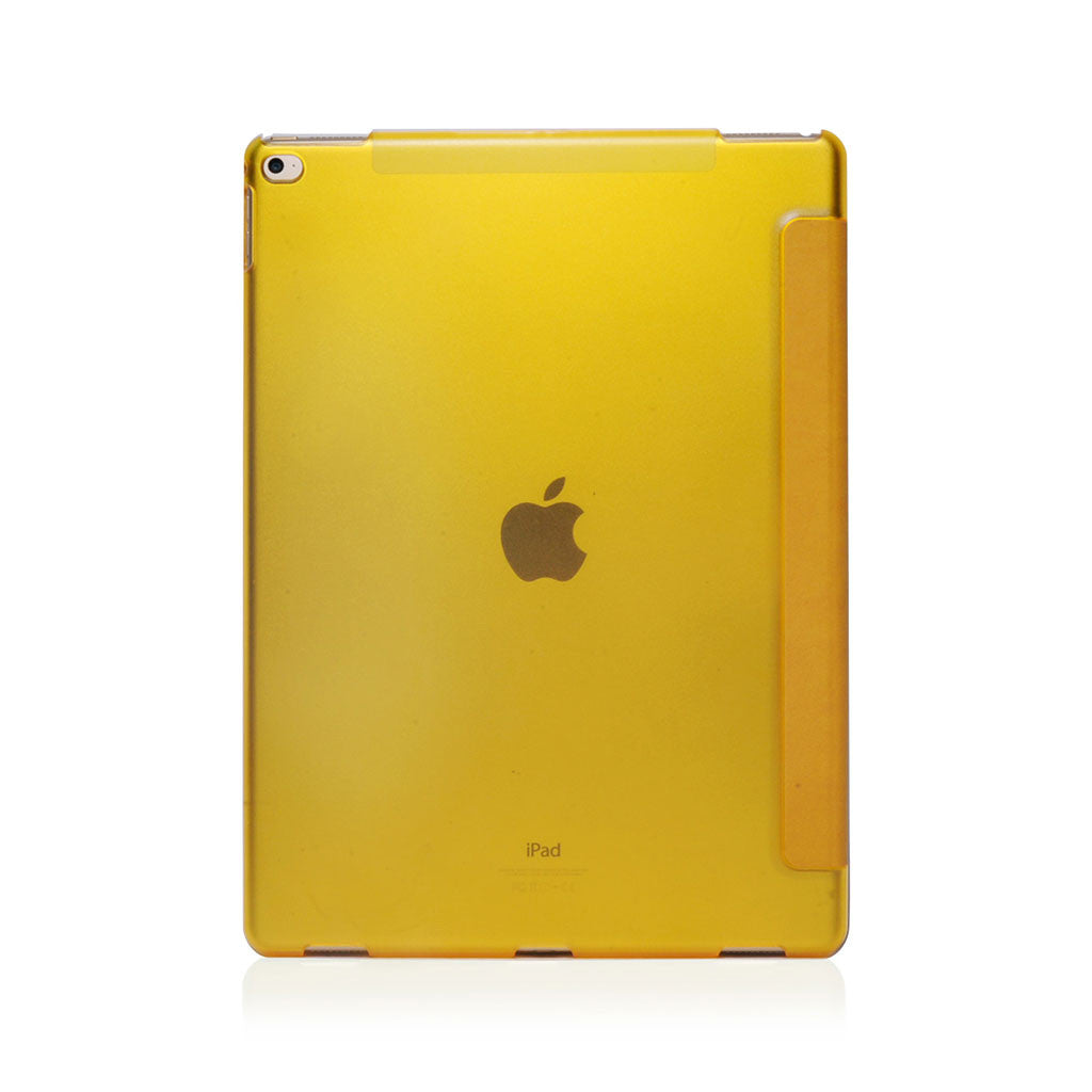 Lucid Folio | Ultra Slim Hard Flip Case for iPad Pro 12.9 w/ Auto On-Off - Yellow