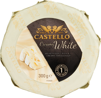 Soft White Danish Moulded Castello Ripened Cheese **RW**