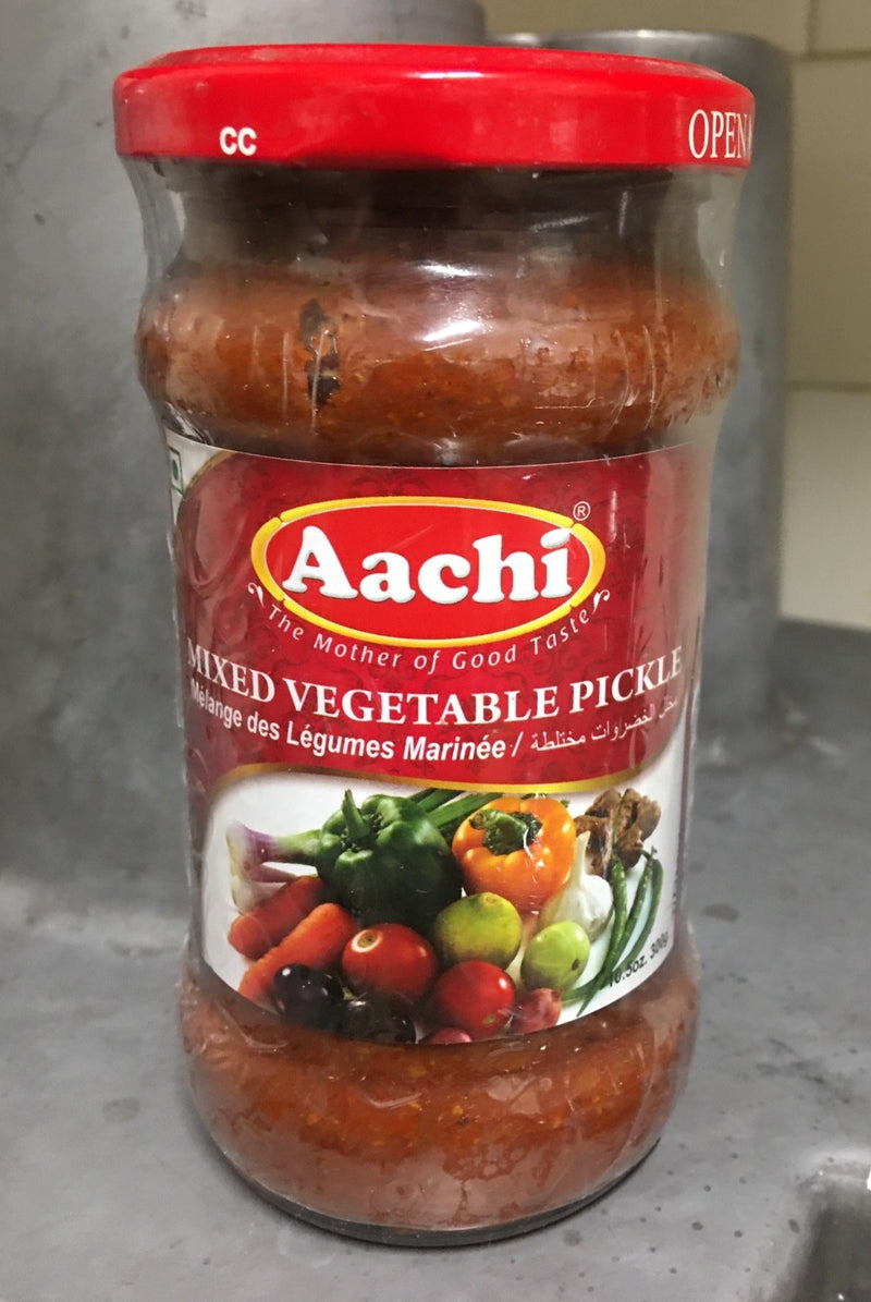 Mixed Vegetable Pickle 300g jar Aachi