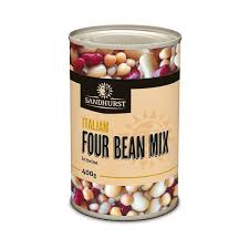 4 Bean Mix 400gm Tin Sandhurst