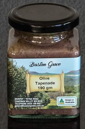Olive Tapenade 190g Baston Grove