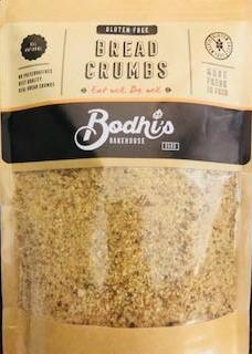 Breadcrumbs Gluten Free 350g Bag Bodhis Bakery