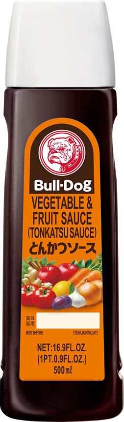 Bull Dog Tonkatsu Vegetable/Fruit Sauce 500ml