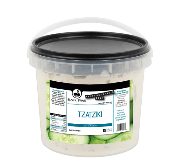 Tzatziki Dip 2kg Tub (Call Office For Availability) Black Swan
