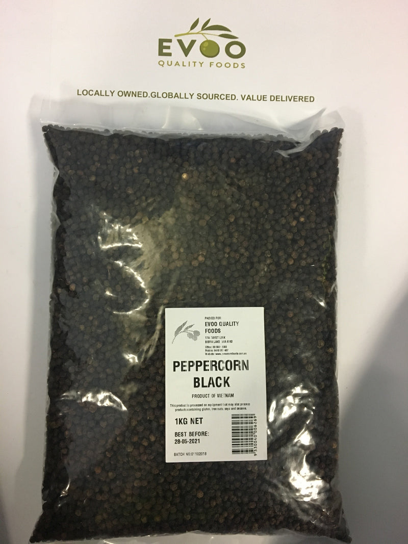 Black Whole Peppercorn 1KG