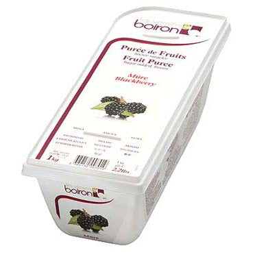 Blackberry Puree 1kg Frozen (Pre Order) Boiron