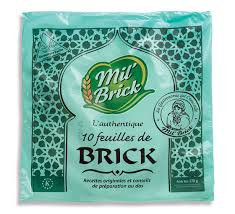 Brick Pastry Sheets 170g Mil Brick (Pre Order 3 Days)