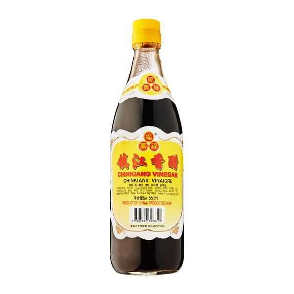 Chinkiang Vinegar (Black Vinegar) 550ml (pre order)