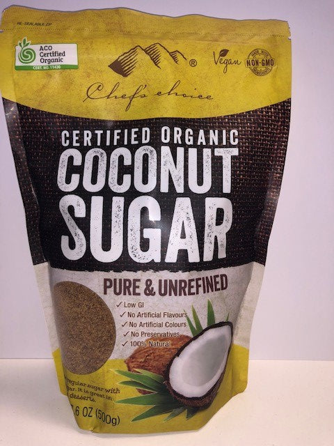 Organic Coconut Sugar 500g Chef's Choice
