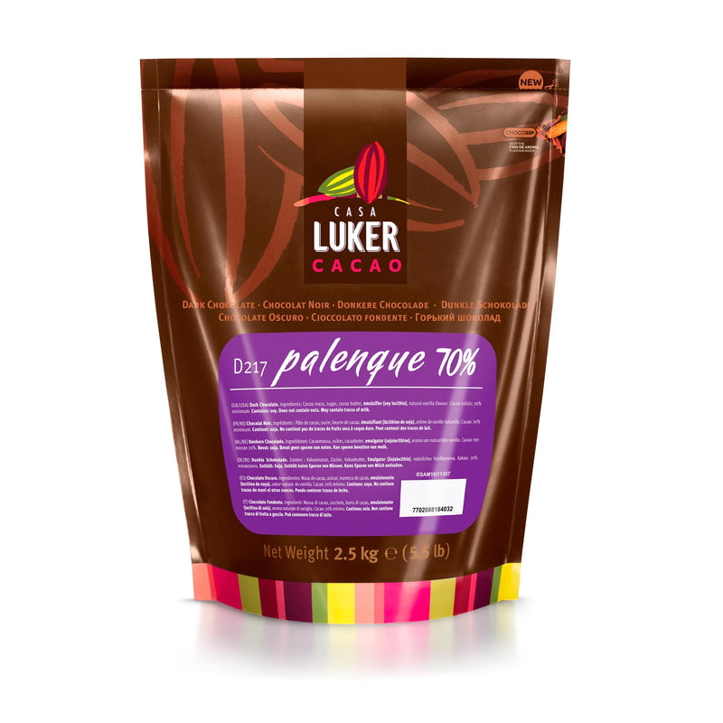 Dark Palenque Chocolate Buttons 70% 2.5kg Casa Luker (Pre Order 5 Days)