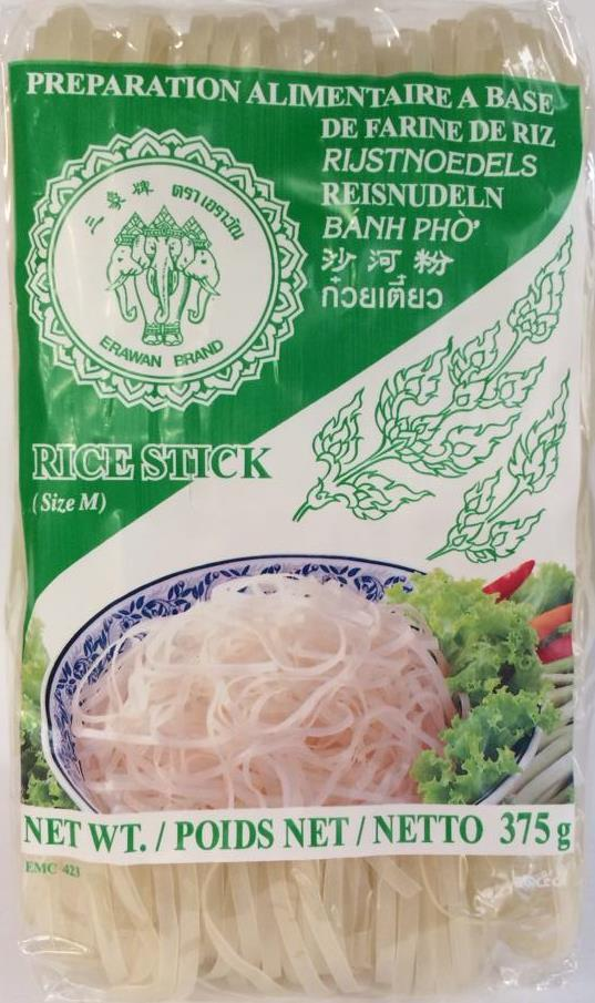 Rice Sticks 375g Erawan (Small/ Medium) ( Green Label) Packet