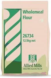 Wholemeal Flour 12.5kg Bag (Code 26734) Allied Mills