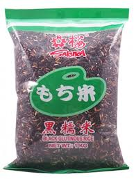 Black Glutinous Rice 1kg Sakura (Pre Order 2 Days)