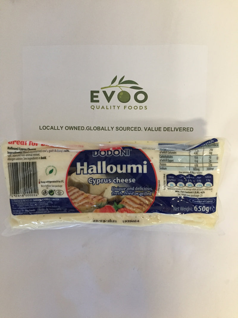 Haloumi cheese Dodonis 650gm loaf