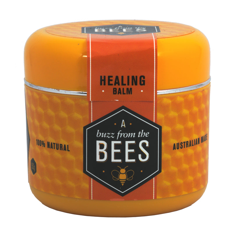 A Buzz From The Bees 100% Natural Healing Balm 50gm Tub Australian Made