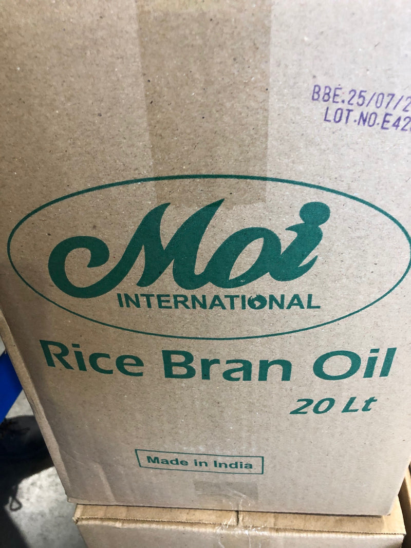 Rice Bran Oil 20lt Jerry Can Drum Moi