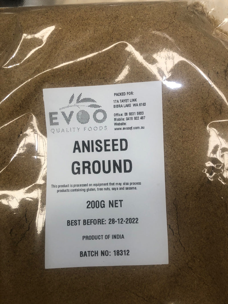 Aniseed 200g ground