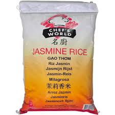 Jasmine Rice 10kg Bag Chef's World