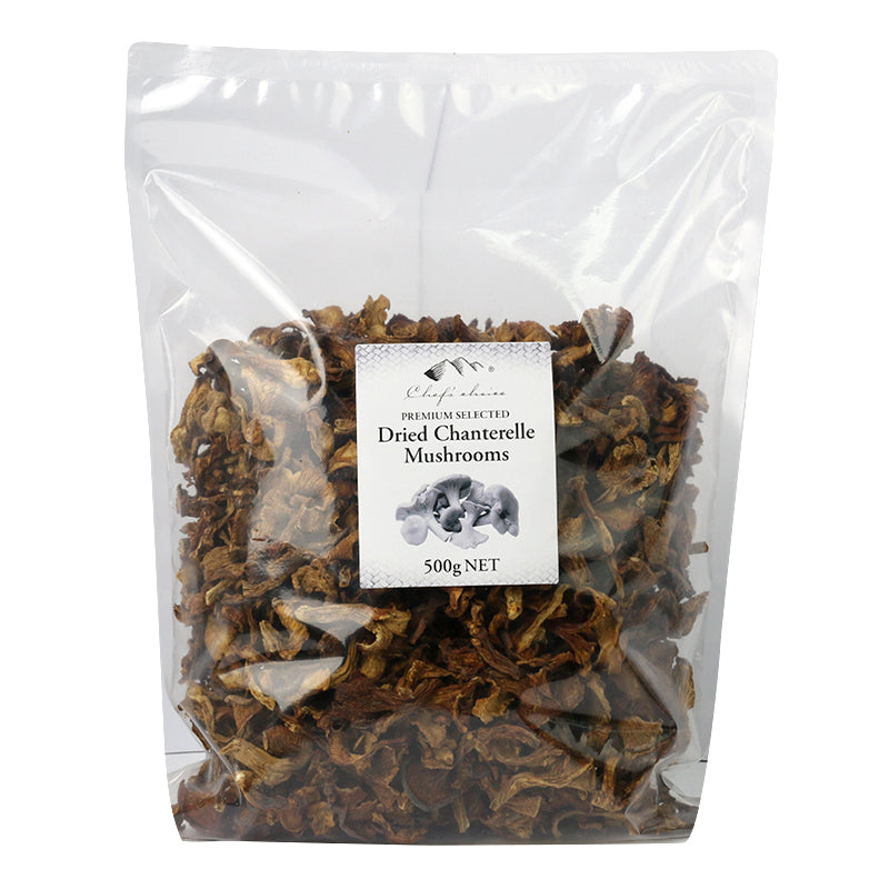 Mushrooms Dried Chanterelle 500g