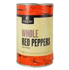 Peppers Fire Roast Whole A12 Sandhurst