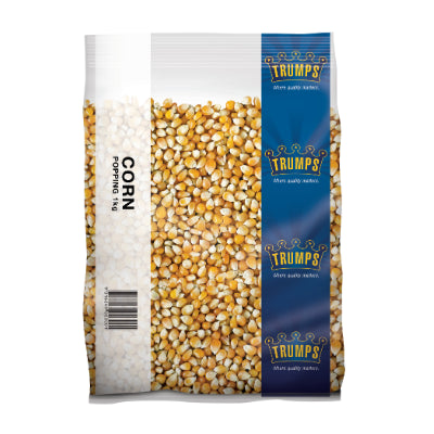 Popping Corn 1kg Bag Trumps