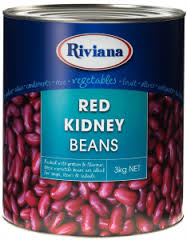Red Kidney Beans A9 Tins Riviana