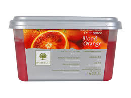 Blood Orange Puree 1kg Frozen (Pre Order) Ravi