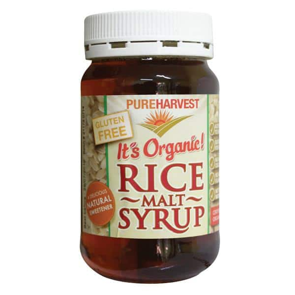 Rice Malt Syrup 500gm Jar Pure Harvest