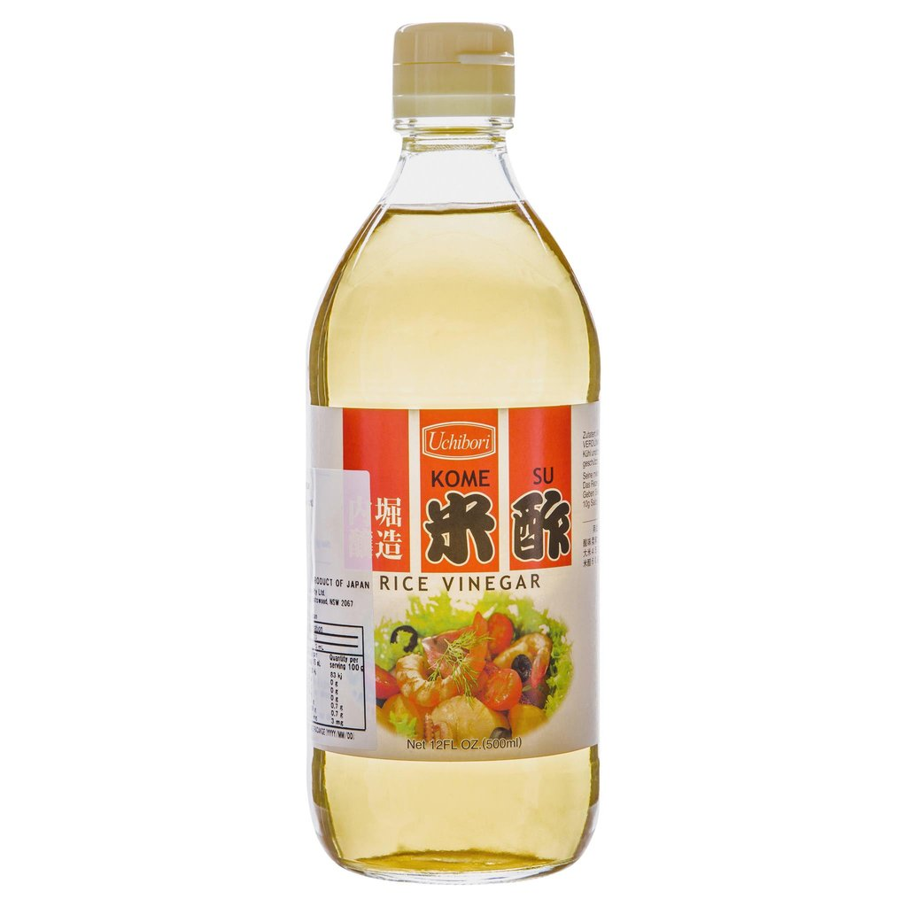 Rice Vinegar 500ml Bottle Uchibori