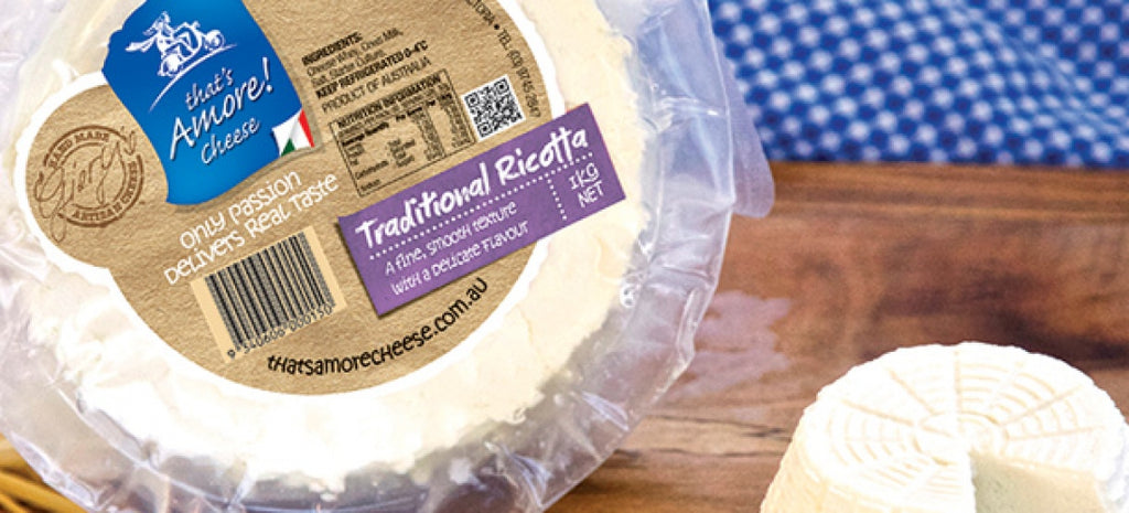 Ricotta Moulded 1kg Thats Amore (Pre Order)