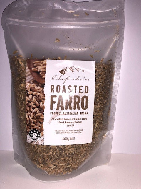 Farro Roasted 500g Bag Chefs Choice