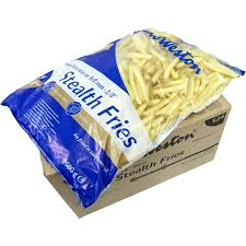 Stealth Fries Skin On 9mm (Gluten Free) 13.6kg Carton (X7211) Lamb Weston