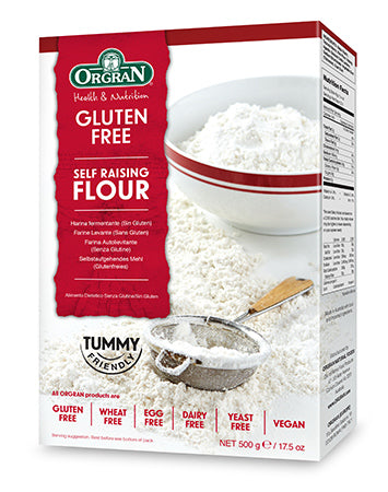 Self Raising Flour Gluten Free 500g Box Orgran