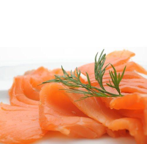 Salmon Smoked Sides Frozen Pre Sliced (1kg) Ocean King