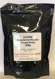 Strawberry Powder (RCFD09) 200g Freeze Dried